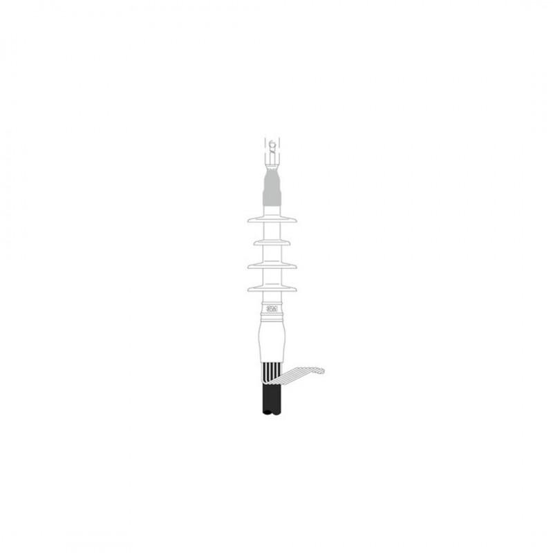 3M 4100023580 Qtıı 5653 36Kv Soğuk Büzüşmeli Dahili Kablo Başlığ