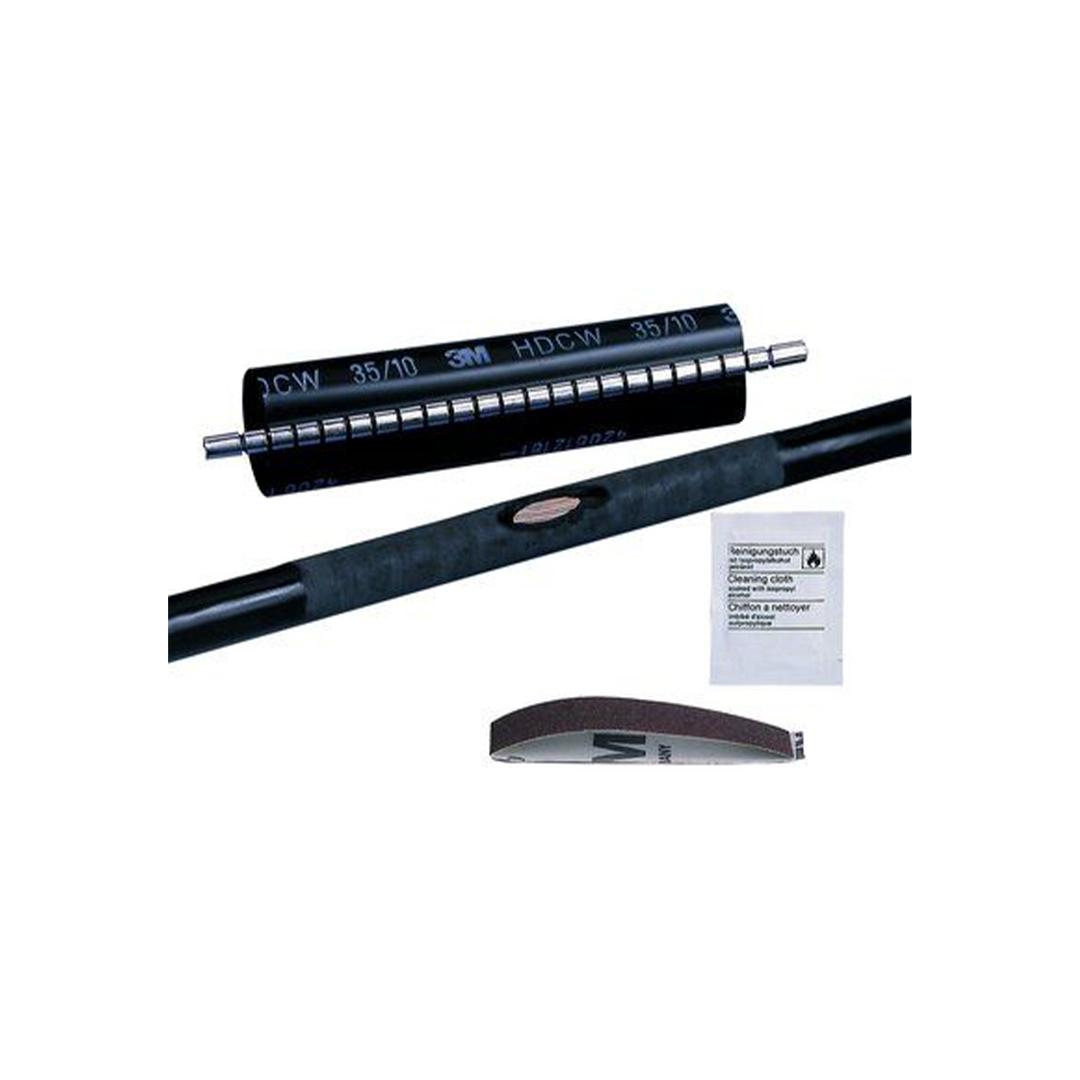 3M DE272920799 Isı Büzüşmeli Kablo Onarım Manşeti HDCW 35mm/10mm - 250mm