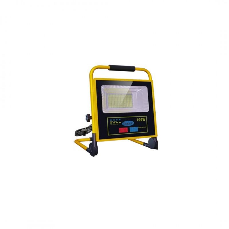 Cata CT-4699 100W Solar Led Projektör Tasinabilir Kumandali
