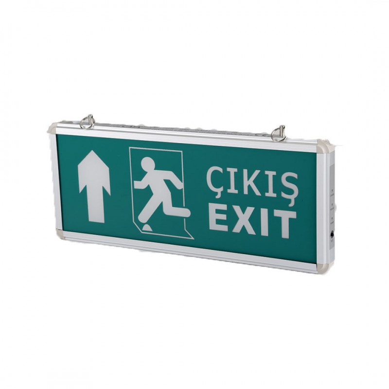 Cata CT-9174 Exit Çikis Armatürü Ledli 3 Saat Akülü