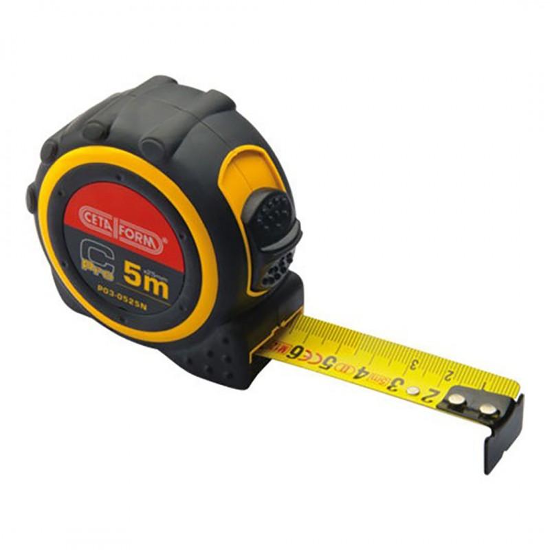 Ceta Form P030519N C-Pro Şerit Metre(Metrik) 5Mx19Mm