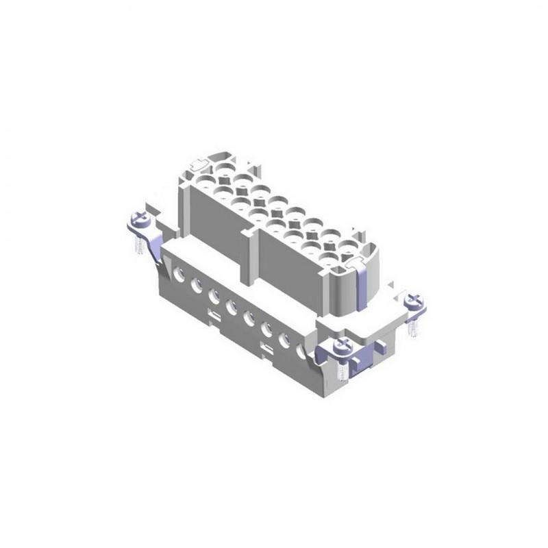 Mete Enerji 29022 16X16A Priz Çekirdeği Vidalı 1-16