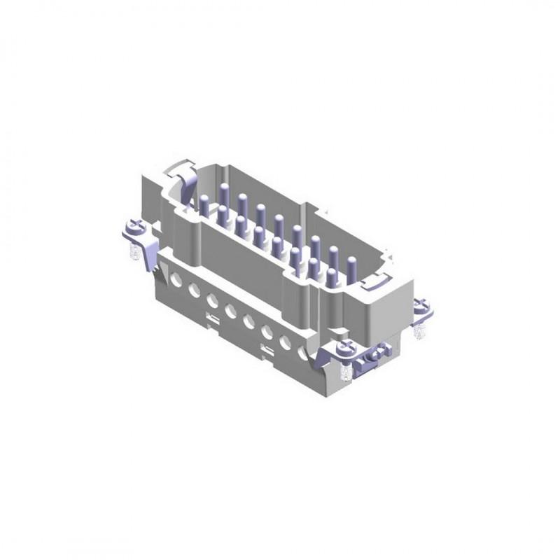 Mete Enerji 29023 16X16A Fiş Çekirdeği Vidalı 1-16