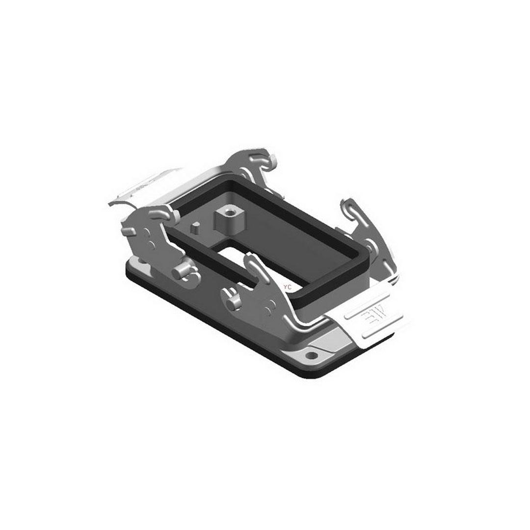Mete Enerji 29040S 10x16 Amper Makine Priz Gövdesi Metal Mandallı