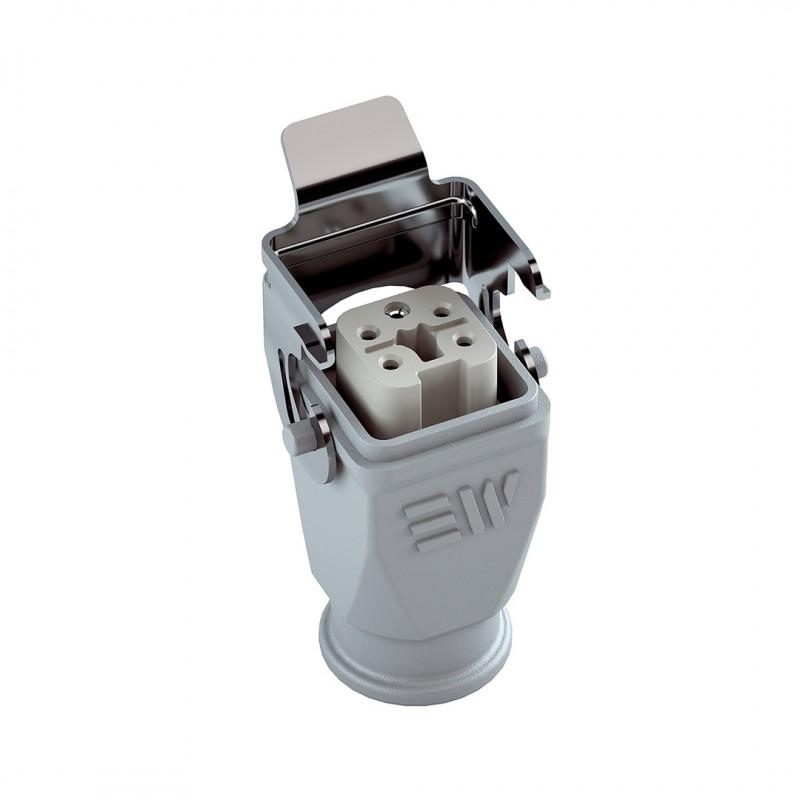 Mete Enerji 403015S 5x10 Amper Uzatma Prizi Metal Mandallı