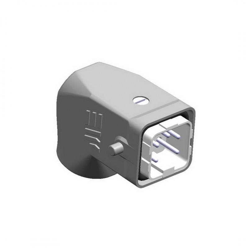 Mete Enerji 403018 5x10 Amper Eğik Fiş