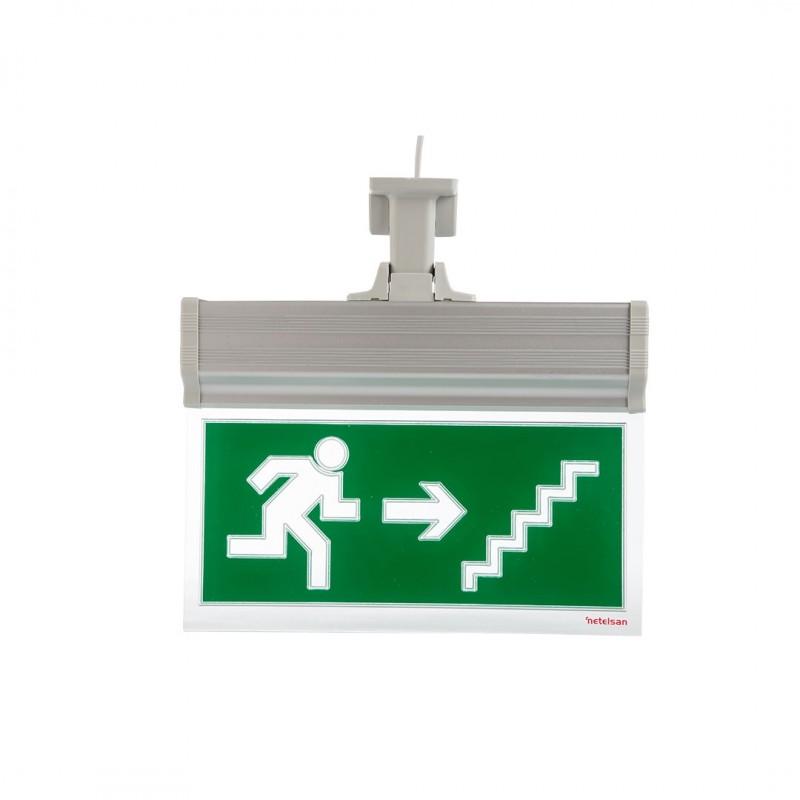 Netelsan MUEXT00086 Blaze E9117 Sağa Merdiven Yukarı Koşan Adam Tijli