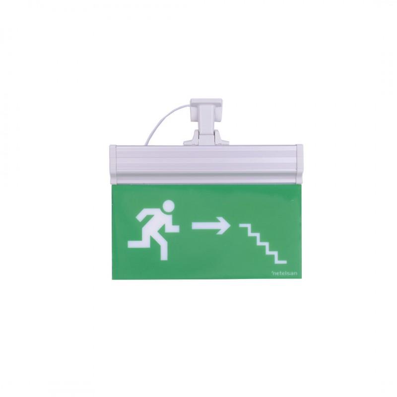 Netelsan MUEXT00096 Blaze E9116 Sağa Merdiven Aşağı Koşan Adam Tijli