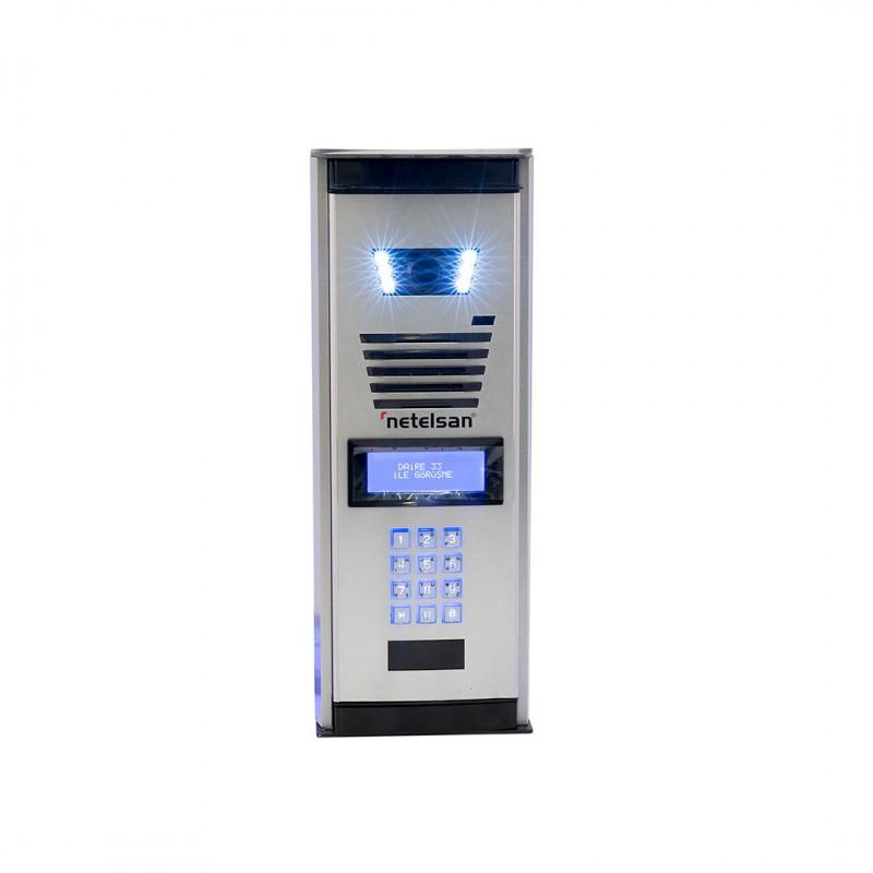 Netelsan MUPXL00098 Small Kartlı Geçişli Kameralı Dijital Zil Paneli