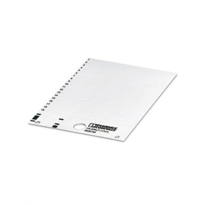 Phoenix Contact 0828792 Us-Emlp (17X7) Plastik Etiket Kart Beyaz