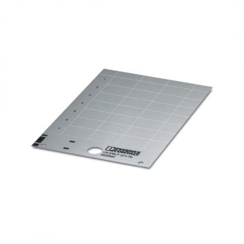 Phoenix Contact 0828896 Us-Emlp (27X18) Sr Plastik Etiket Kart Gümüş