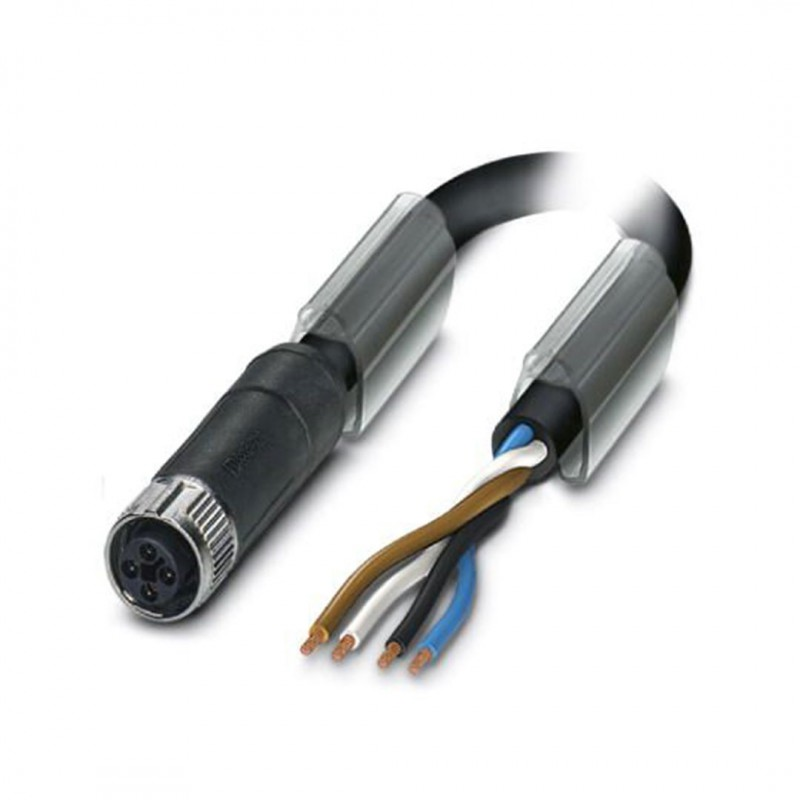 Phoenix Contact 1408823 Sac-4P-1,0-Pur/Fst Sco M12 4 Pin Dişi Düz Pur 1mt