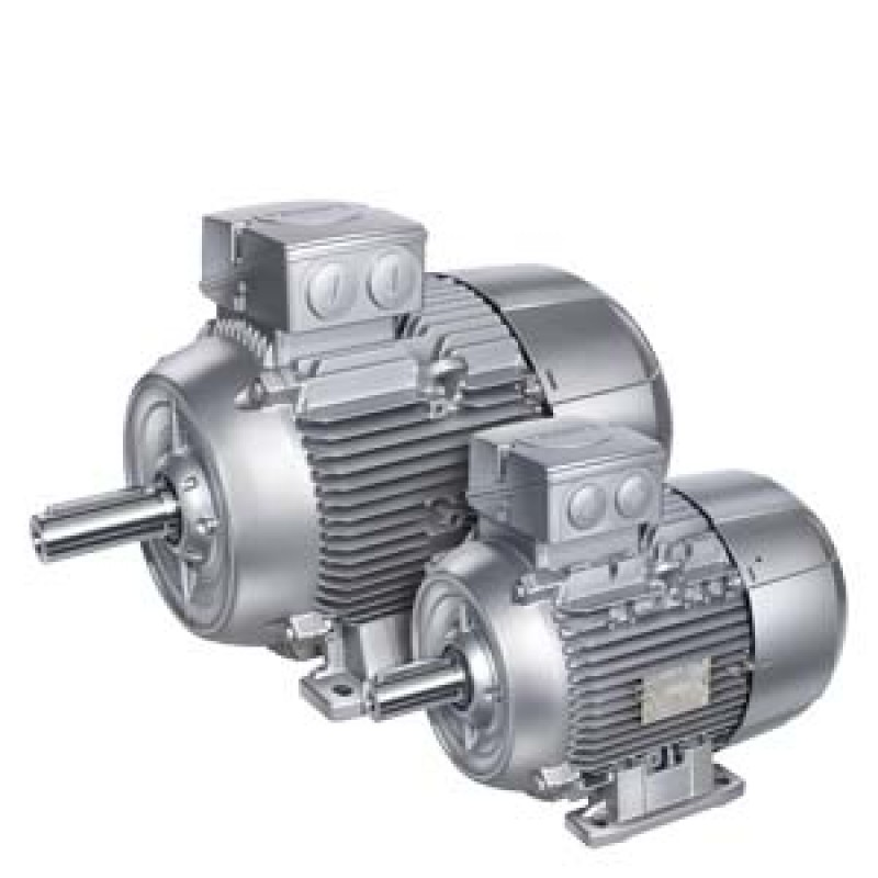 Siemens 1LE1001-0CA22-2AA4 IE2 0,37kW 3000d/dk 2K Ac Motor B3 Ayaklı