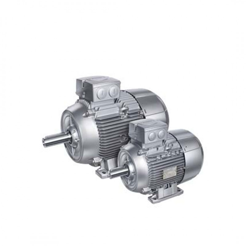 Siemens 1LE1001-0EC02-2AA4 IE2 0,75kW 1000d/dk 6K Ac Motor B3 Ayaklı