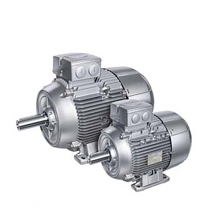 Siemens 1LE1001-1BB22-2AA4 Ie2 - 4Kw 1500D/Dk 4K Ac Motor B3 Ayaklı
