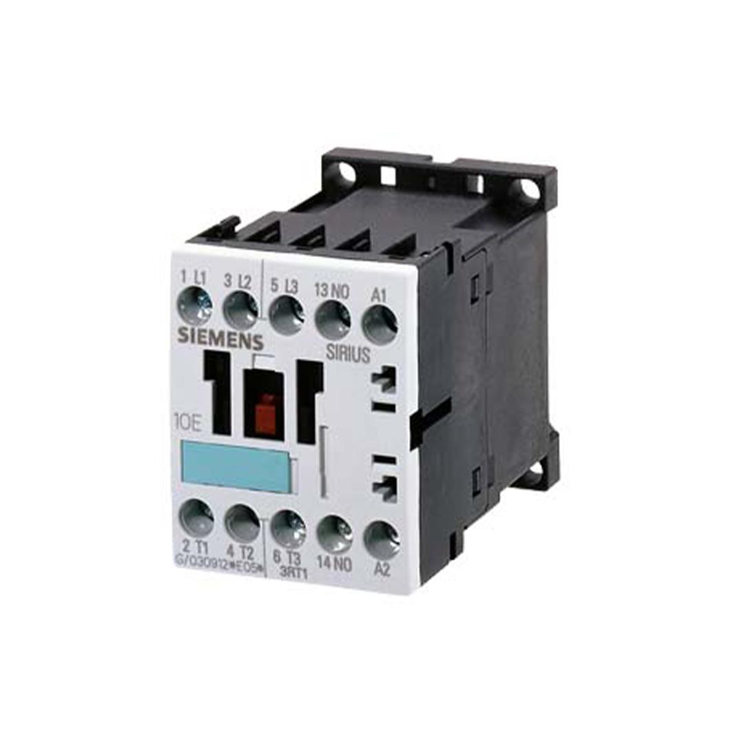 Siemens 3RT1015-1BB41 Kontaktör 3 kW 24 V Dc 1 Na Boy:S00