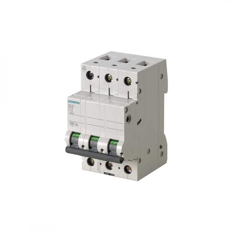 Siemens 5SL6363-7 Otomat C3X63A 6Ka